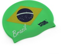 Viva Sports Country Brazil Swimming Cap