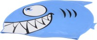 Fab5 Fish Shape Swimming Cap (Blue, Pack Of 1) - SWCE3Z8GKCK3DWP6