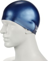 Speedo Plain Moulded Silicone Junior Swimming Cap (Blue, Pack Of 1)