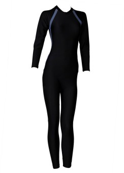 Freestyle Women Body Suit With Zip Solid Women's