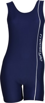 Freestyle Half Legsuit Logo Print With Pad Provision Solid Women's