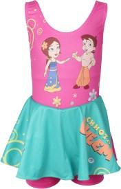 Chhota Bheem Swimwear Graphic Print Girl's
