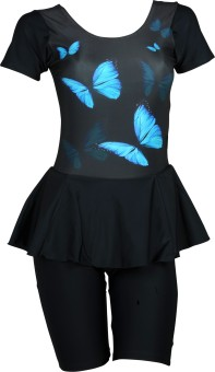 Champ Frock With Half Leg Sublimation Animal Print Women's
