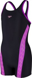 Speedo Monogram Legsuit Solid Girl's