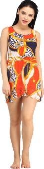 N-Gal Beautiful And Comfortable Printed Beachwear Dress Printed Women's