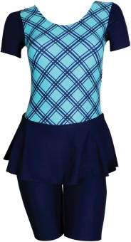 Freestyle Padded Frock With Knee Length Shorts Printed Women's