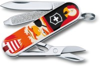 Victorinox 0.6223.L1407 - Classic Limited Edition - Treasure 7 Function Multi Utility Swiss Knife (Designer)