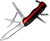 FCS Lng 6 Tool Multi-utility  Swiss Knife (Red)