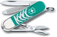 Victorinox 0.6223.L1210 - Classic Sneakers 7 Function Multi Utility Swiss Knife (Sneakers)