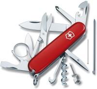 Victorinox Original Explorer 19 Function Multi Utility Swiss Knife (Red)