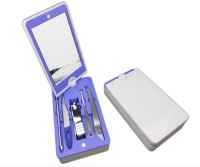 RD Promos 5 Pcs Manicure Set 1 Tool Multi-utility  Swiss Knife (Blue)