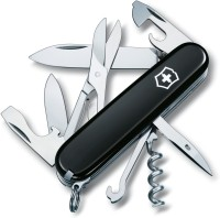 Victorinox 1.3713.3 15 Function Multi Utility Swiss Knife (Black)
