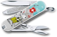Victorinox 0.6223.L1504 7 Function Multi Utility Swiss Knife (Gray)