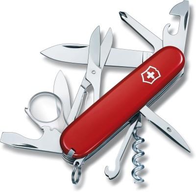 Victorinox Explorer Original 16 Tool Multi-utility  Swiss Knife (Red)