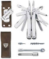 Victorinox Original SwissTool Spirit XC 26 Function Multi Utility Swiss Knife (Silver)