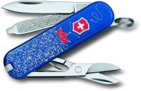 Victorinox Classic Sailor 7 Tool Multi-utility  Swiss Knife Blue