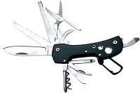 FCS GH BS 11 Function Multi Utility Swiss Knife (Black)