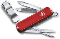Victorinox 0.6463 - Nail Clip 580 8 Function Multi Utility Swiss Knife (Red)