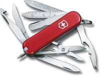 Victorinox 0.6385 - Mini Champ 17 Function Multi Utility Swiss Knife (Red)