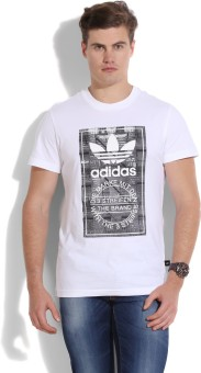 Adidas Originals Men's White T-Shirt