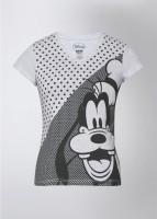 Mickey & Friends Printed Women's V-neck T-Shirt