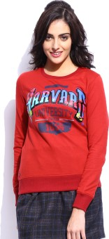 Harvard Printed Women's Round Neck T-Shirt