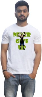 Lovely Collection WWE John Cena Never Give Up Printed Men's Round Neck T-Shirt