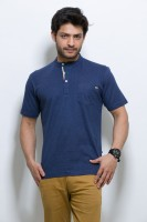 ALX New York Solid Men's Henley T-Shirt