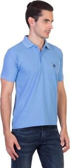 Green Wich United Polo Club Solid Men's Polo Neck Blue T-Shirt - TSHEGZB8TQV4P3Q8