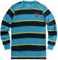 Nike Striped Boy's Round Neck T-Shirt