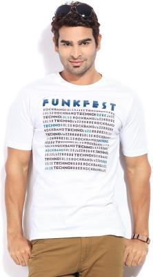 London Bridge Printed Men's Round Neck T-Shirt