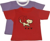 TSG My Kid Printed Baby Boy's, Baby Girl's Round Neck T-Shirt (Pack Of 2) - TSHED8BJYWKNE5JM