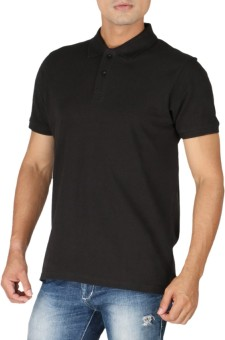 Stop To Start Solid Men's Polo Neck T-Shirt