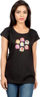 Desi Chowk Printed Women's Round Neck T-Shirt