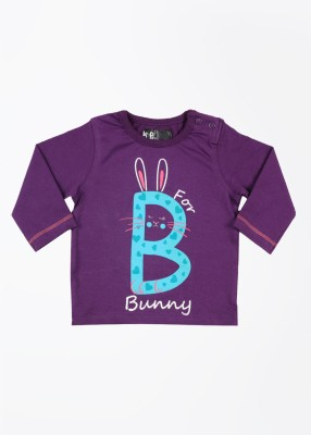 Baby Pure Printed Round Neck T-Shirt