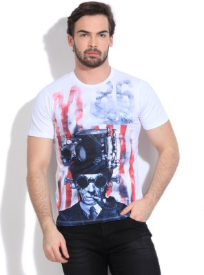 89d502f2 Mossimo Printed Men's Round Neck T-Shirt for Rs. 349 at Flipkart