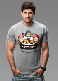 Imagica Printed Men's Round Neck T-Shirt