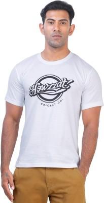 Click Hit Graphic Print Men's Round Neck T-Shirt