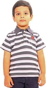 Bio Kid Printed Baby Boy's Polo T-Shirt