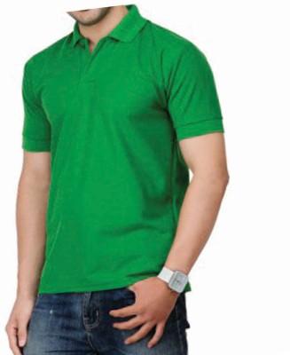 TrueWay Solid Men's Polo Neck T-Shirt