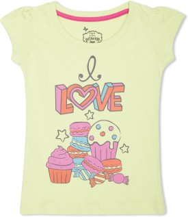Max Graphic Print Girl's Round Neck T-Shirt - TSHE4CERKSZNFGGN