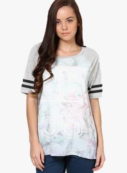 Vero Moda Floral Print Women's Round Neck T-Shirt