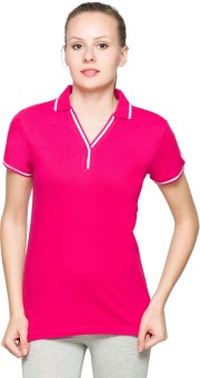 Max Solid Women's Polo T-Shirt