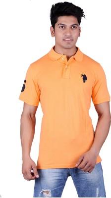 Jura Polo Solid Men's Polo Neck T-Shirt