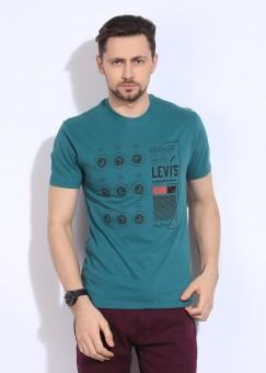 Levi's Printed Men's Round Neck T-Shirt: T-Shirt