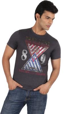 Moncheri Printed Men's Round Neck T-Shirt
