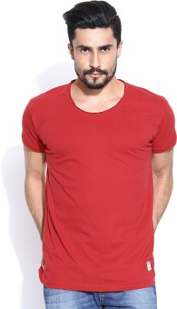 Hubberholme Solid Men's Scoop Neck T-Shirt