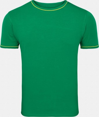 Inkfruit Inkfruit Solid Men's Round Neck T-Shirt (Green)