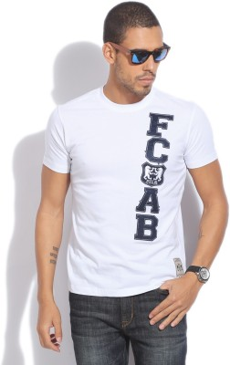 Fila Solid Men's Round Neck T-Shirt