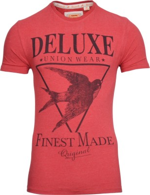 Drastic Printed Men's Round Neck T-Shirt